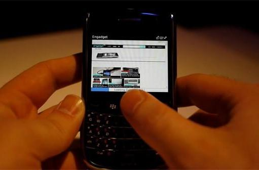 BlackBerry Bold 9650 video hands-on