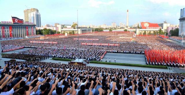 Pyongyang rally 2
