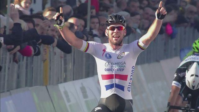 Cavendish takes advantage of crash to win Tirreno-Adriatico stage six