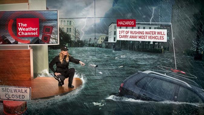 Game Engine soll Wetterberichte AR-mässig aufbretzeln