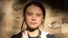 Greta Thunberg arriva a Torino per la manifestazione in Piazza Castello
