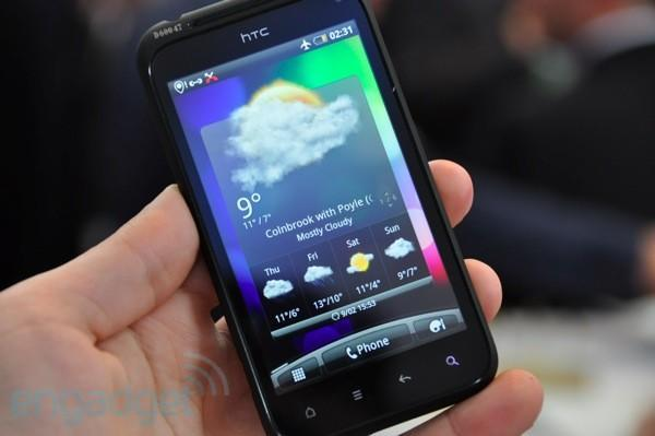 HTC Incredible S, Desire HD, Desire Z and original Desire will all be eating Gingerbread by the end of June