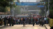 Venezuela border tensions turn violent amid aid distribution bid