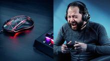 Mouses e fones de ouvido para gamers em oferta