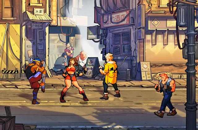 'Streets of Rage 4' revives Sega's beat 'em up classic