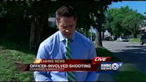 Man seriously injured in officer-involved shooting