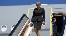 May forced to delay China trade mission because of Trump clash