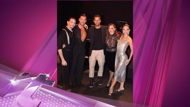 Entertainment News Pop: 'Dancing With the Stars' Takes Broadway: Karina and Maks in 'Forever Tango'