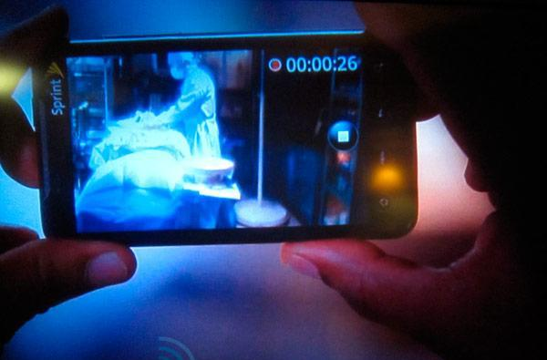 Screen Grabs: EVO 4G captures illicit in-progress surgery on The Closer