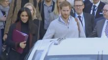 Harry and Meghan in Sydney