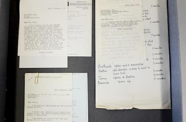 Lost Alan Turing letters found in university filing cabinet