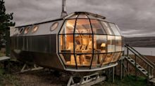 Need a break? You can now rent this unique Airship in the Scottish Highlands via Airbnb