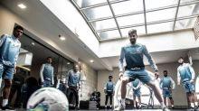 Para evitar desgaste, Santos treina em hotel antes do clássico