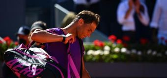 Tennis: Nadal tombe en quarts à Madrid, comme à Monte-Carlo