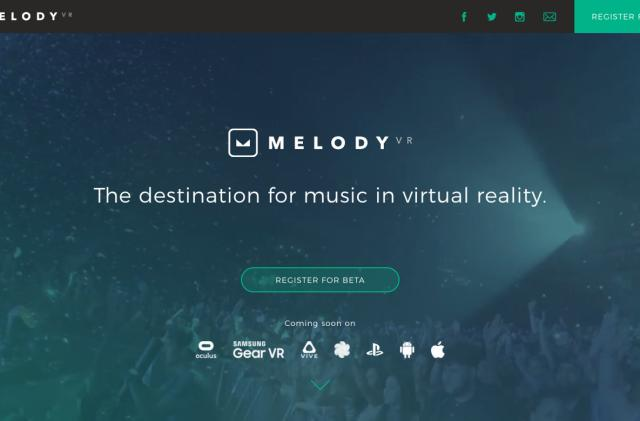 MelodyVR's music app will have songs from the biggest labels