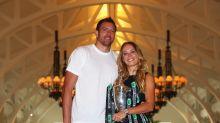 Former tennis star Caroline Wozniacki gives birth to daughter with ex-NBA player David Lee