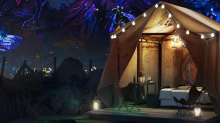 Spend the Night Glamping Inside Walt Disney World