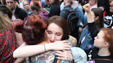 Irish Abortion Referendum: Emotional Scenes As Victory For Repeal Campaign Confirmed