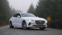 2019 Genesis G70 2.0T Drivers' Notes Review | Snow day