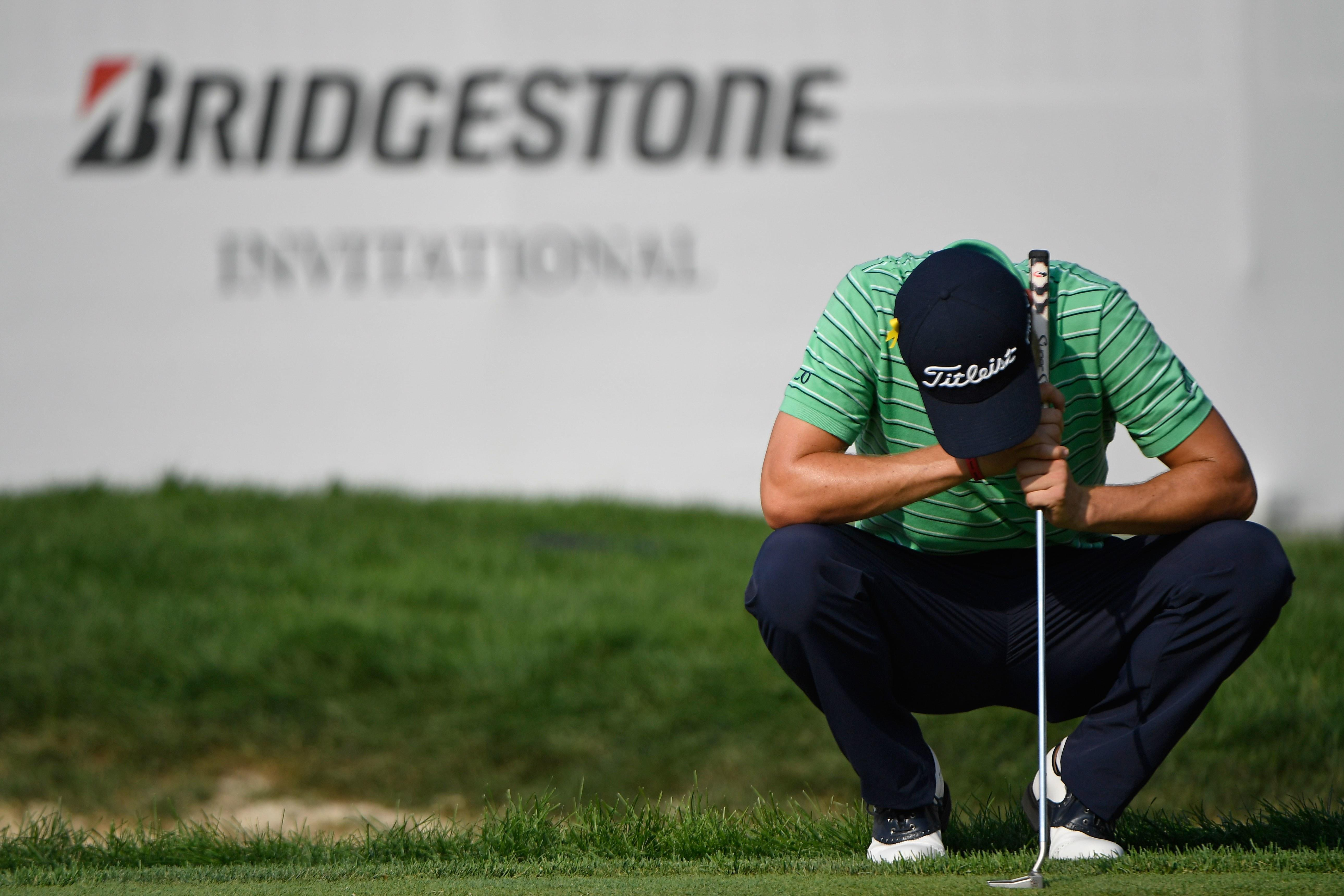 Firestone Hours Sunday >> Justin Thomas Gets Down To Business With A Methodical Sunday