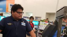 Walmart cashier pays woman's bill after she breaks down at register