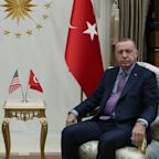 'Don't be a fool!' Donald Trump's letter'binned' by Turkish president as Mike Pence attempts to broker ceasefire
