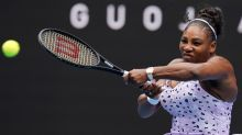 Serena powers into Open second round