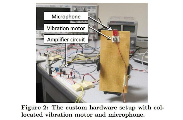Researchers hack phone vibration motor to act as a microphone