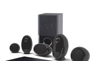 LG's 5.1 HB954SP Blu-ray HTIB system makes room for your iPod or iPhone