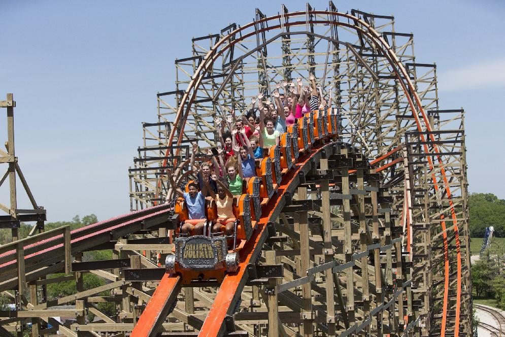 Worlds Fastest Wooden Roller Coaster Debuts In Us
