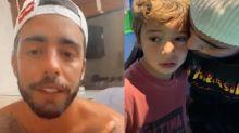 """Scooby comenta vídeo polêmico com Dom: """"Ensino a superar os medos"""""""