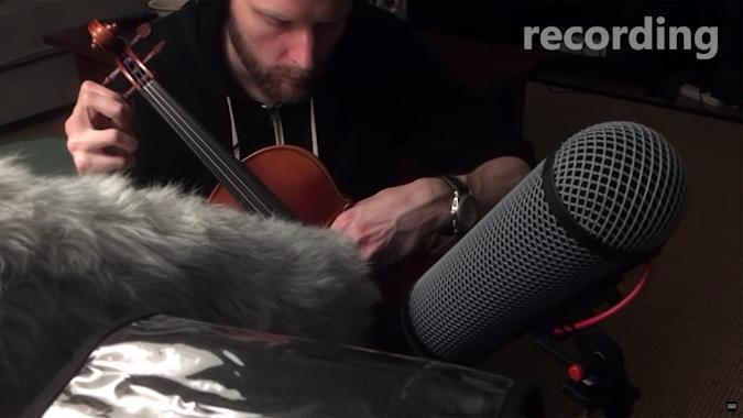Recording bow sounds for 'The Last of Us Part II'