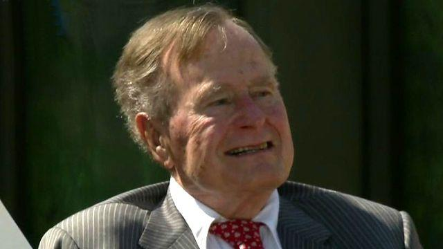 George H.W. Bush: Very special for Barbara and me