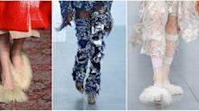 Shaggy Shoes Are Trending At London Fashion Week