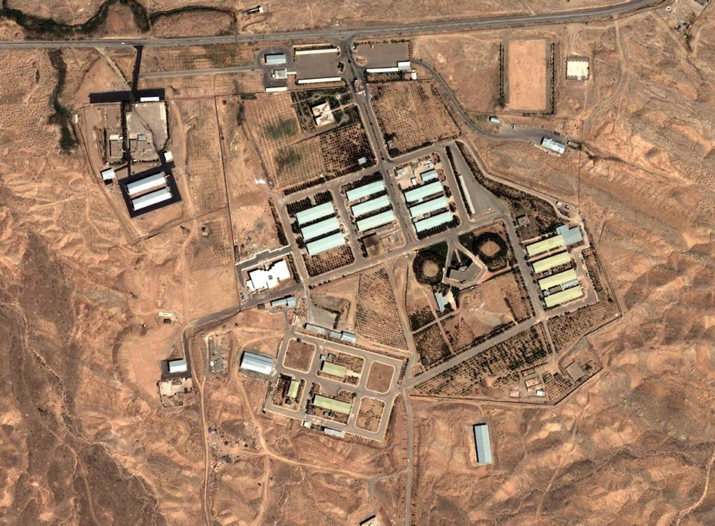 Iran denies allegations it conducted research into how to develop an atomic bomb at its secretive Parchin military site (AFP Photo/HO)