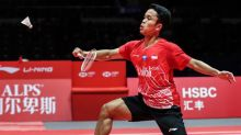 Link Live Streaming 2 Pebulutangkis Indonesia di Final BWF World Tour Finals 2019