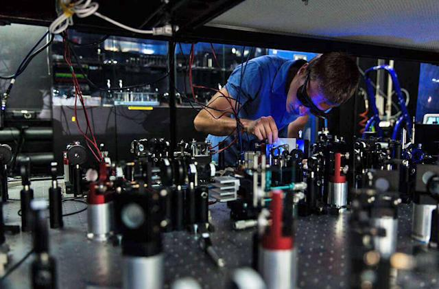 Physicists create a 'quantum ruler' to measure the universe