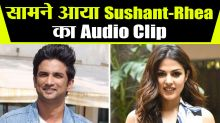 Sushant Viral Audio Clip Discussing Retirement Plan With Rhea and Her Father