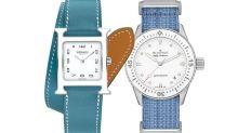 屬於夏季的藍色腕錶