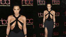 Ist das Kim Kardashians bisher freizügigster Red-Carpet-Look?