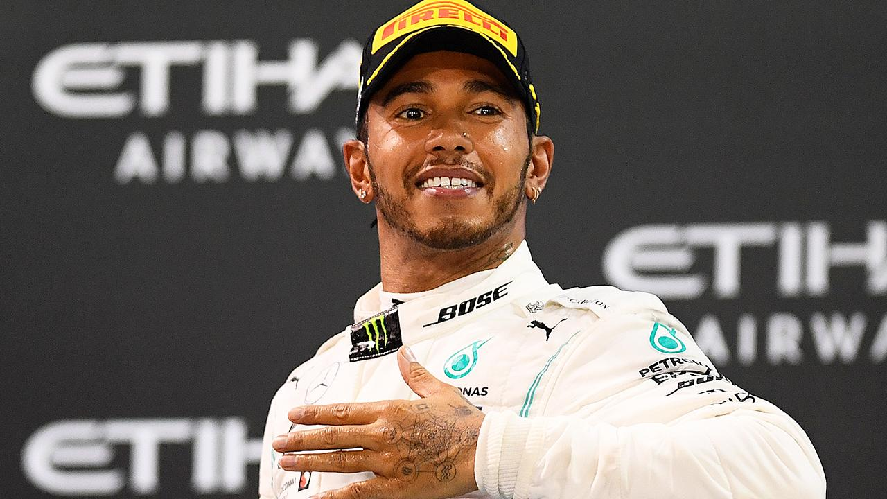 'Sign of weakness': Lewis Hamilton slaps down F1 rival