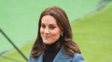 Duchess of Cambridge makes another surprise appearance in £900 blazer