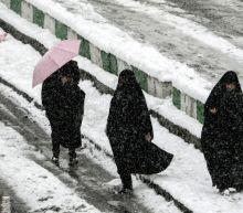 Snow shuts schools, delays flights in Iran capital