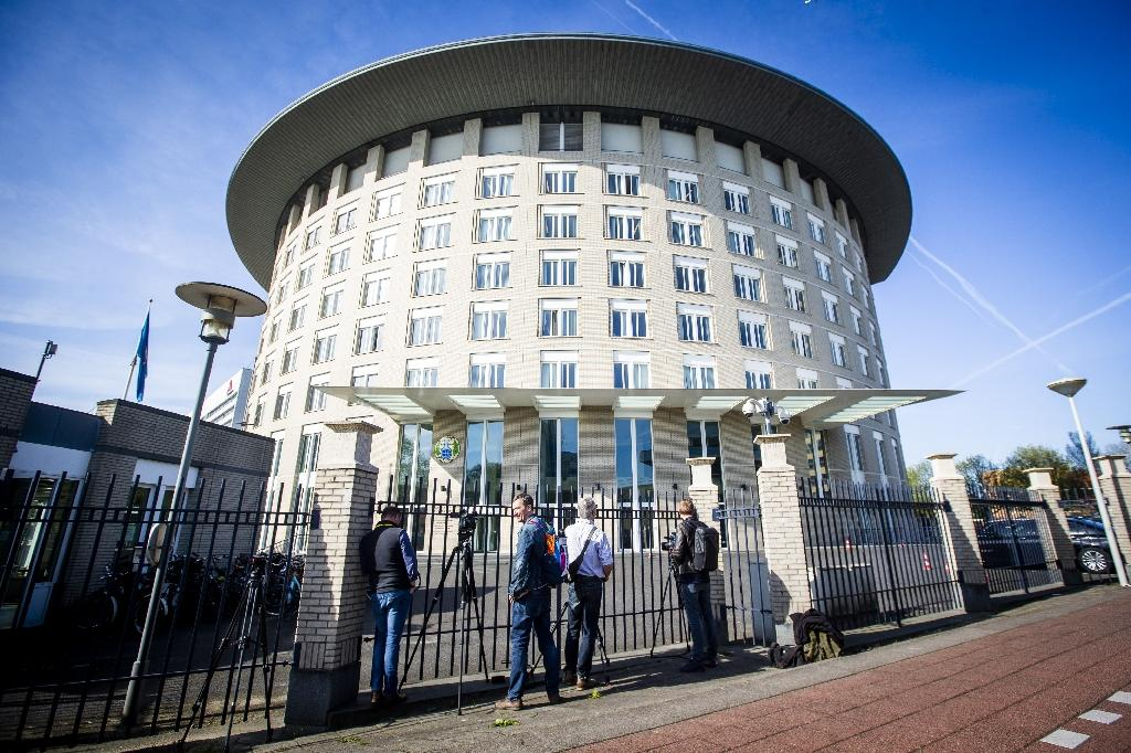 Dutch security forces said they had seized the men as they tried to carry out a cyber attack on the Organisation for the Prohibition of Chemical Weapons