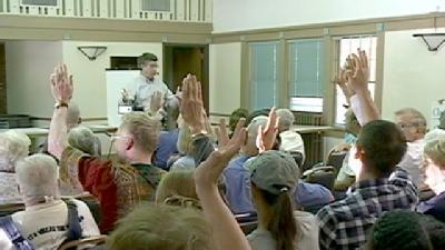 Congressman Terry Holds Town Hall Meeting