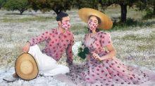 Este casal levou o conceito de 'looks combinando' para outro nível
