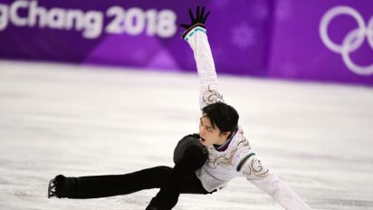 Image result for 'Ice Prince' Hanyu defies injury to retain skate crown