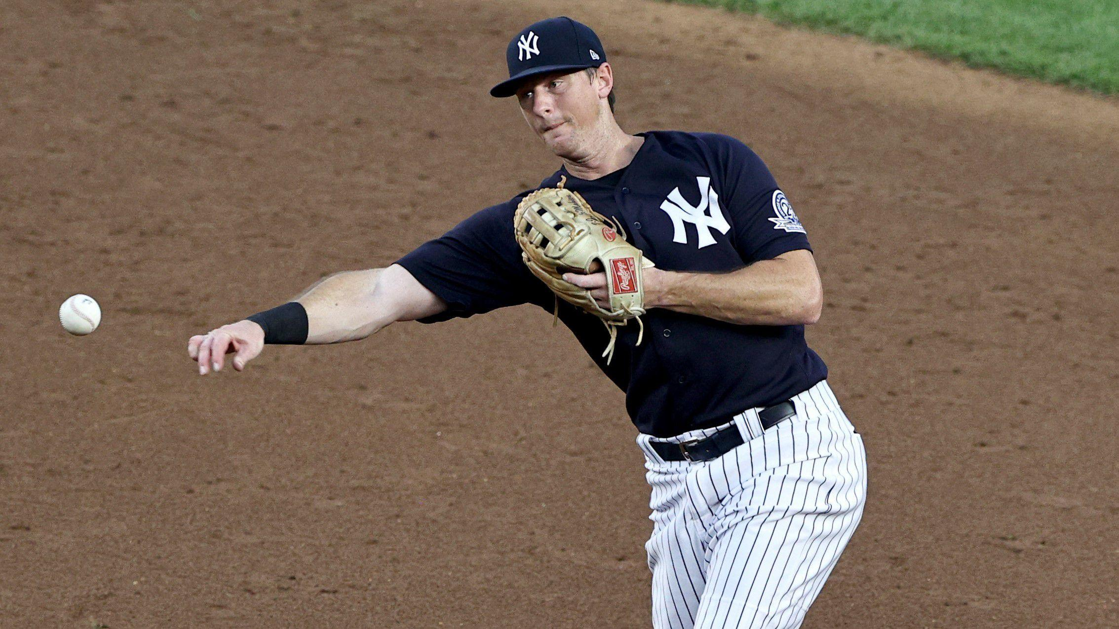 DJ LeMahieu will be back leading off for the Yankees after missing just one game
