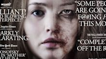 Anger over the 'gross, horrendous' new poster for mother! featuring a battered Jennifer Lawrence