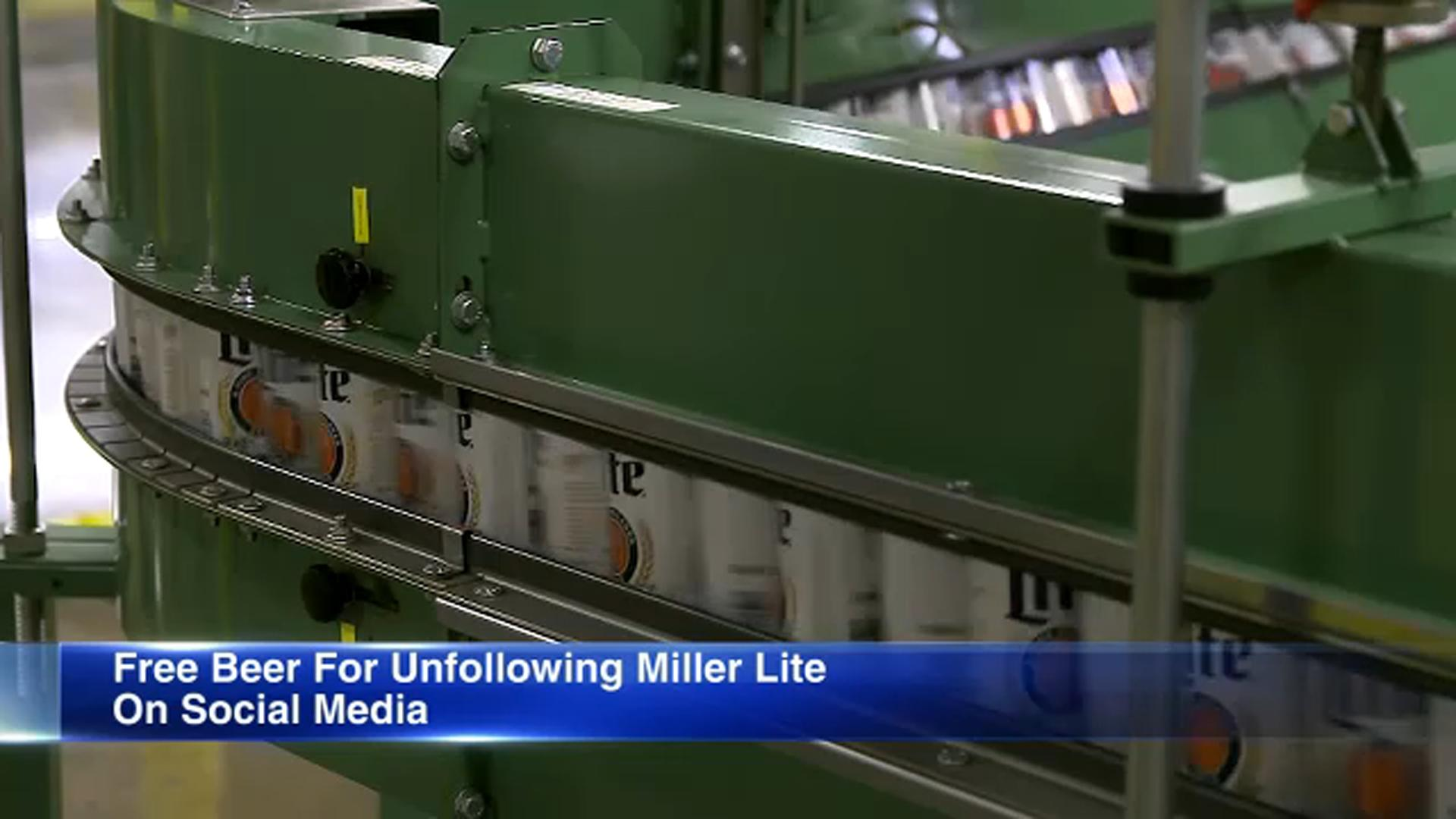 Miller Lite campaign offers free beer
